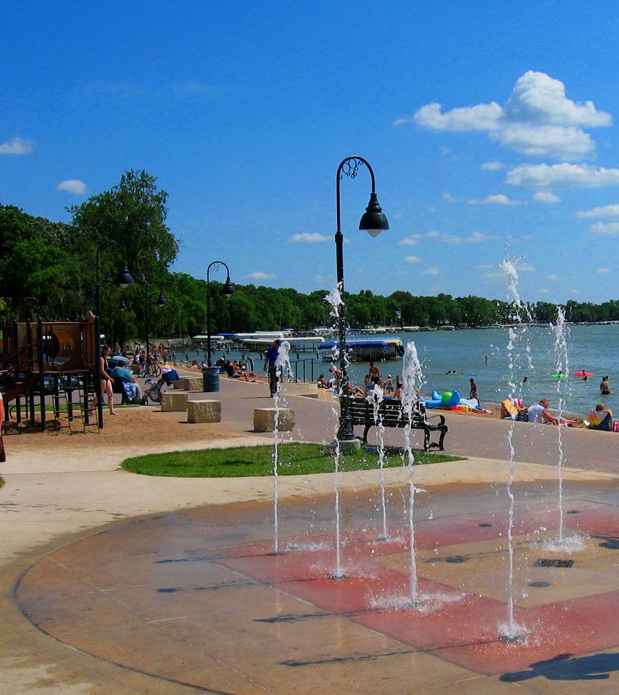Splash Pad at City Beach